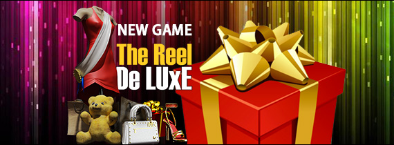 The Reel De Luxe arrives at Slotland