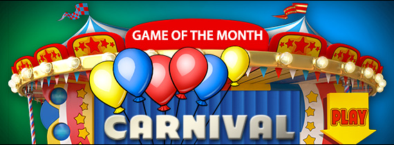 Match Bonuses and Cash Prizes for Carnival!