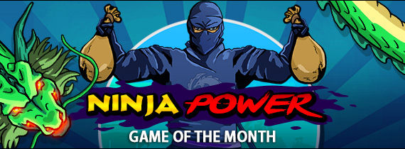 Game of the Month Bonuses with Cash Prizes!