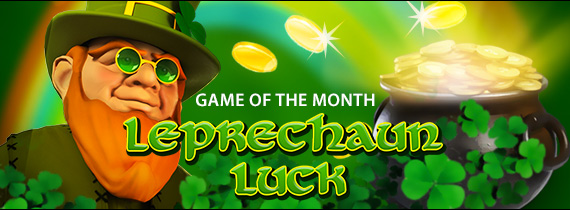Match Bonuses and Cash Prizes for Leprechaun Luck!