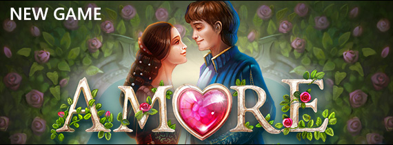 Play Amore with Free Cash & Match Bonuses