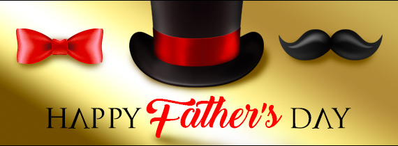 Huge Match Bonuses + Free Spin for a Winning Father's Day