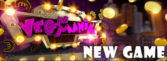 Free Cash and Match Bonuses Introducing Vegas Mania!