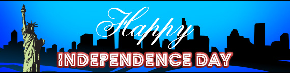 Match Bonuses and a Free Spin for Independence Day!
