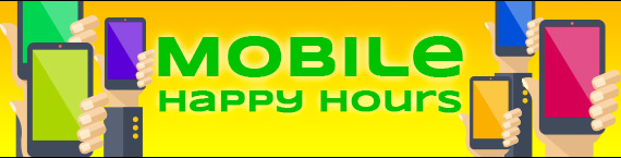 Daily Mobile Happy Hours throughout August