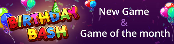 Game of the Month is Brand New Birthday Slot