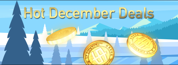 Hot December Deals: Matches of up to 85%!