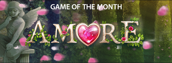 Match Bonuses and Cash Prizes for Amore!