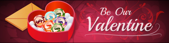 Feel the love with our V-day Match Bonuses!