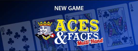 Play Aces & Faces Multi-Hand with $15 Freebie!
