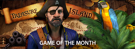 Game of the Month is Treasure Island!