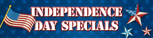 Independence Day Specials