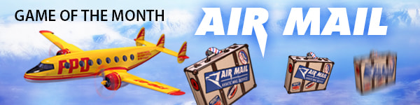 Air Mail is Game of the Month