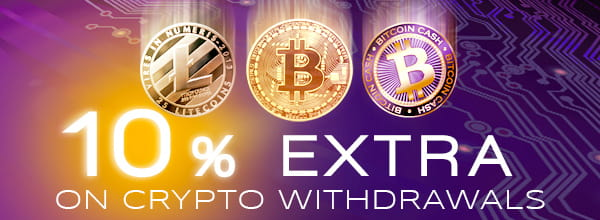 10% Increase for Crypto Withdrawals
