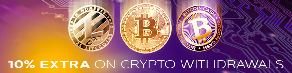 10% Increase on Crypto Withdrawals