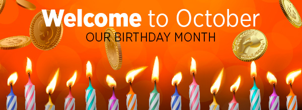Our Birthday Month