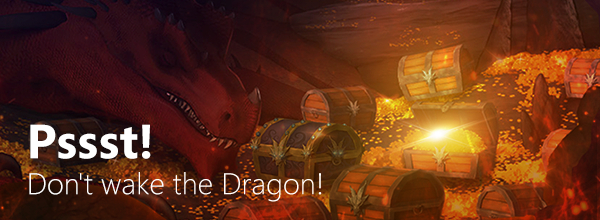 Pssst! Don't wake the dragon!